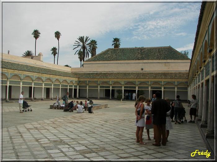 Maroc 7ème jour : bâtiments dans Marrakech 20061023_023
