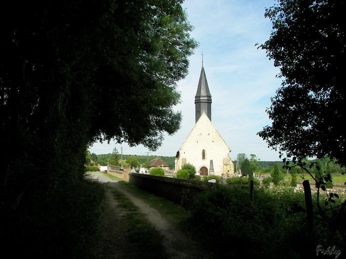 D'Acon à Breux, seul avec Ulysse 20090605_047