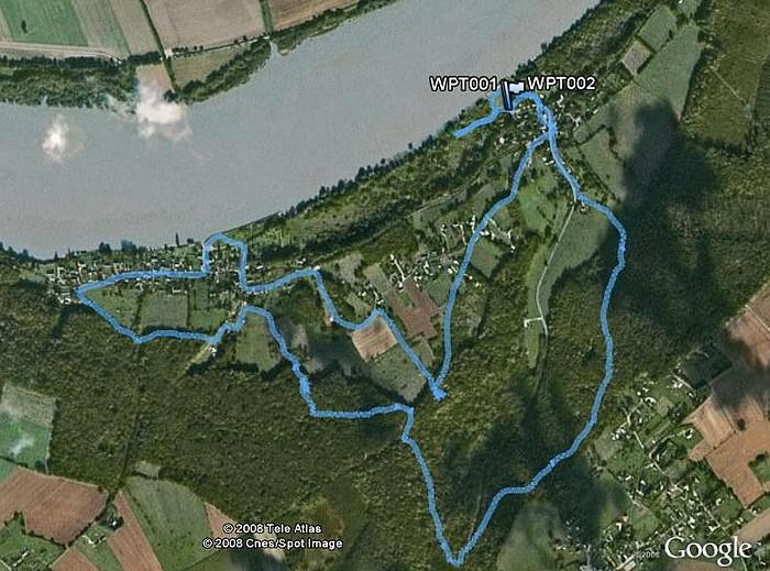 Aizier, le chemin des Sources Bleues AizierSourcesBleues