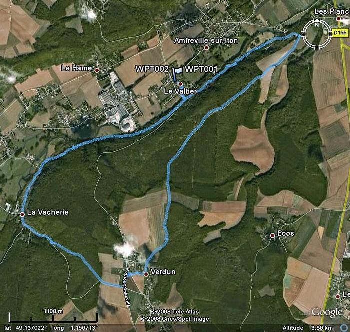 Circuit d'Amfreville Sur Iton AmfrevilleSurIton