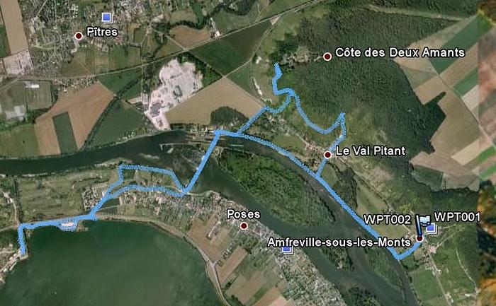 La Côte des Deux Amants, avec OVS Cote2AmantsRiveDroite