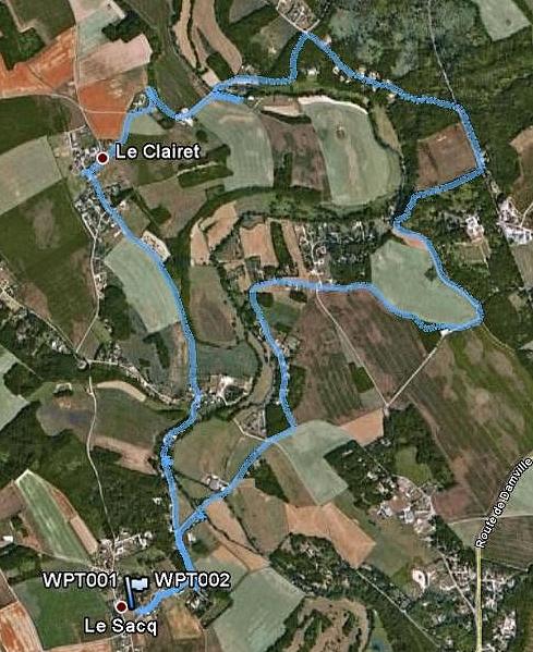 Le Sacq, circuit des Moulins LeSacqLesMoulins