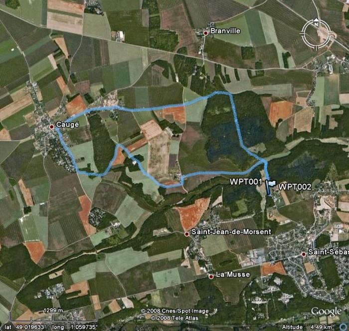 Circuit des Mares à Saint Sébastien StSebastienLesMares