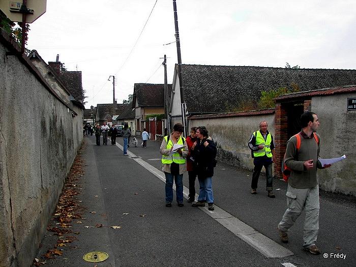 Rallye pédestre à Saint Georges-Motel 20091011_004