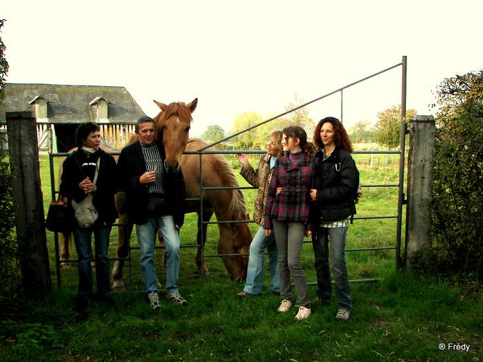 Perriers La Campagne, circuit de la vallée 20091030_016