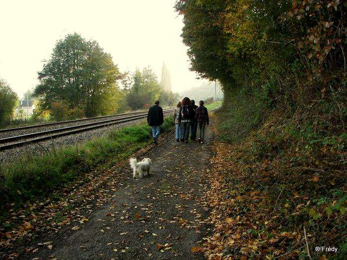 Perriers La Campagne, circuit de la vallée 20091030_028
