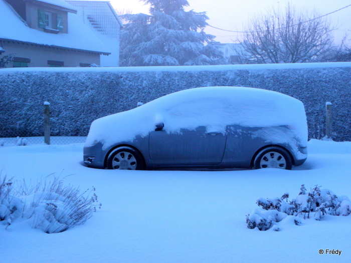 En Normandie aussi, la neige 20100107_003