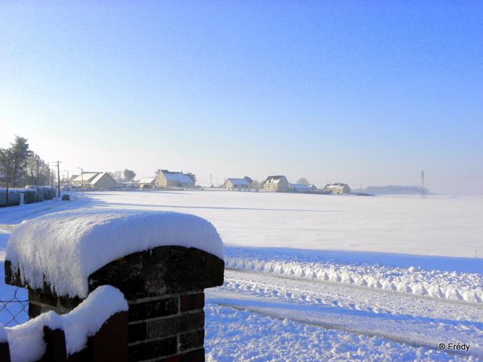 En Normandie aussi, la neige 20100107_011