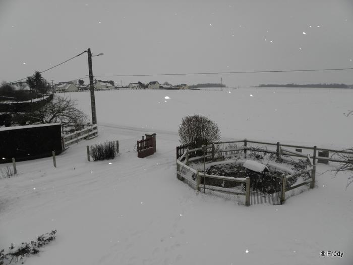 En Normandie aussi, la neige 20100109_002