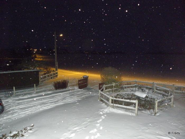 En Normandie aussi, la neige 20100109_003