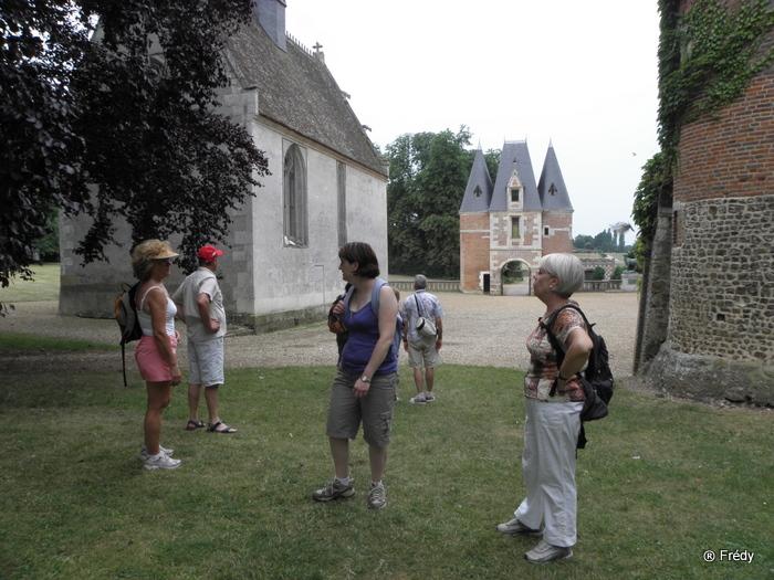 La Gaudrée et le château de Chambray 20100702_008