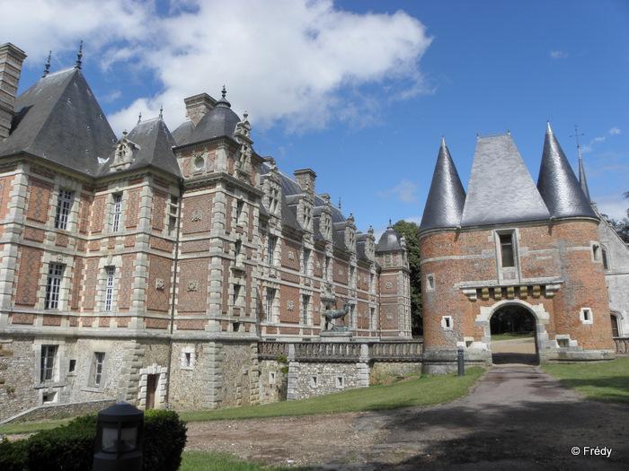 La Gaudrée et le château de Chambray, sans Iton-Rando 20110610_009