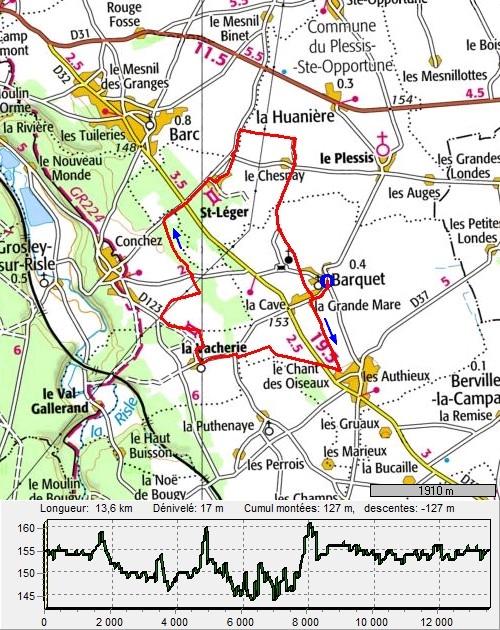 Barquet, circuit des Trois Hameaux, sans Iton-Rando BarquetTroisHameaux