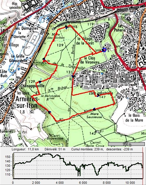 11 kilomètres en forêt d'Evreux EvreuxForet11