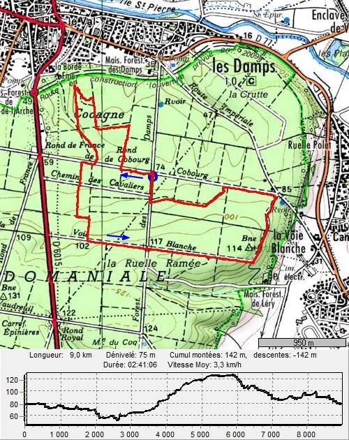 Forêt de Bord-Louviers, Rond de Cobourg RondDeCobourg
