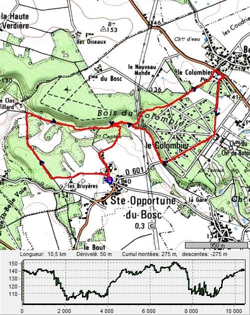 Sainte-Opportune du Bosc et le Champ de Bataille SteOpportuneDuBosc